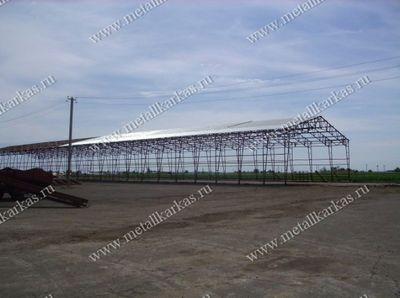 зернохранилища из металлоконструкций